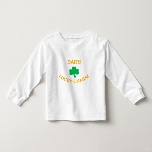 El encanto afortunado del papá irlandés camisetas