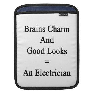 El encanto de los cerebros y las buenas miradas fundas para iPads