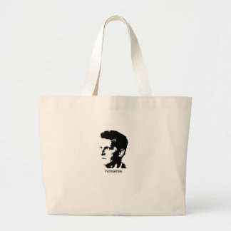 El encanto de Wittgenstein Bolsa Tela Grande