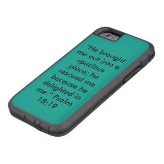 """""""Él encantó mí"""" la caja del teléfono celular de Funda Tough Xtreme iPhone 6"""