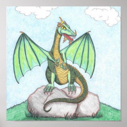 El encaramarse del dragón impresiones