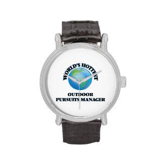El encargado al aire libre más caliente de las relojes de mano
