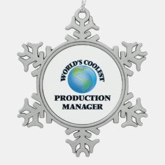 El encargado de la producción más fresco del mundo adorno