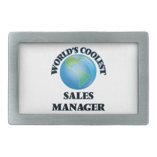 El encargado de las ventas más fresco del mundo hebilla cinturon rectangular