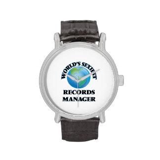 El encargado de los expedientes más atractivo del relojes de pulsera