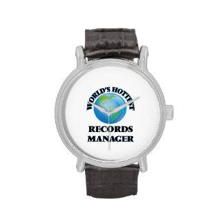 El encargado de los expedientes más caliente del relojes de pulsera