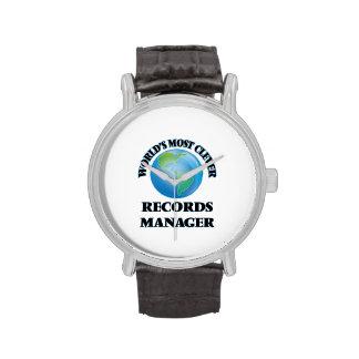 El encargado de los expedientes más listo del relojes