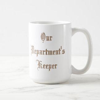 El encargado de nuestro departamento - taza