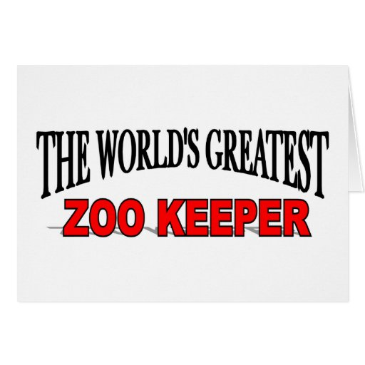 El encargado del parque zoológico más grande del m felicitación