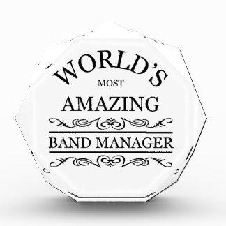 El encargado más asombroso de la banda del mundo