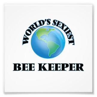 El encargado más atractivo de la abeja del mundo impresiones fotográficas