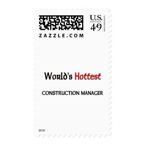 El encargado más caliente de la construcción de sellos
