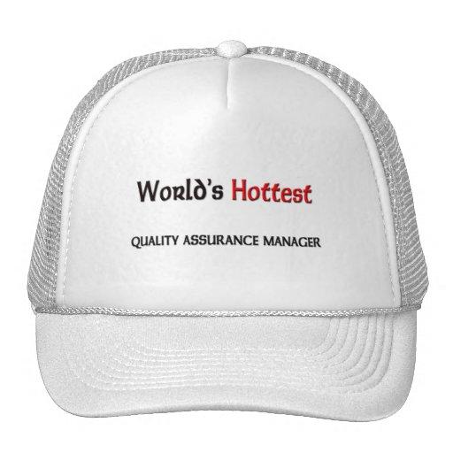 El encargado más caliente de la garantía de calida gorro