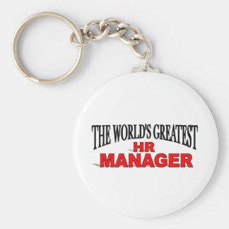 El encargado más grande de la hora del mundo llaveros personalizados