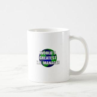 El encargado más grande de la hora del mundo taza