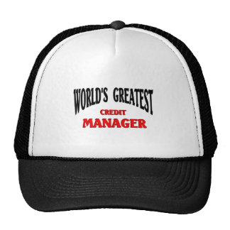 El encargado más grande del crédito gorras de camionero