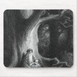 El Enchanter MERLIN y Vivien de hadas Mouse Pad