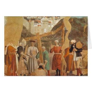 El encontrar de Francisca del della de Piero de la Tarjetón