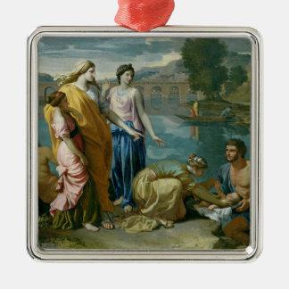 El encontrar de Moses, 1638 Ornamentos Para Reyes Magos