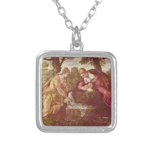 El encontrar de Moses de Juan Battista Tiepolo Joyeria