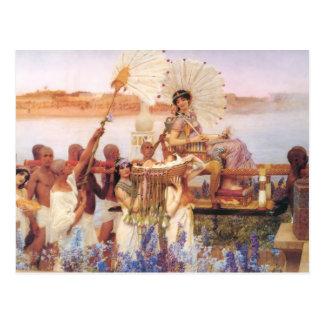 El encontrar de Moses sir Lawrence Alma-Tadema Tarjetas Postales