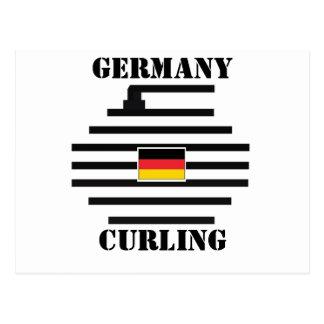 El encresparse de Alemania Postal