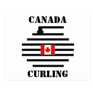 El encresparse de Canadá Tarjetas Postales