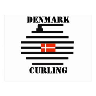 El encresparse de Dinamarca Tarjetas Postales