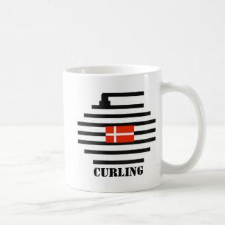 El encresparse de Dinamarca Taza De Café