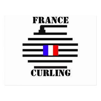 El encresparse de Francia Postal