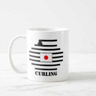 El encresparse de Japón Taza De Café