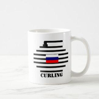 El encresparse de la Federación Rusa Taza
