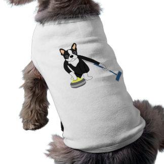 El encresparse de los Juegos Olímpicos de Invierno Camiseta De Mascota