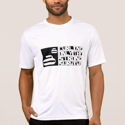El encresparse sobrevive camisetas
