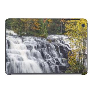 El enlace cae en otoño cerca de Paulding, Michigan Fundas De iPad Mini