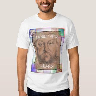 El Enrique VIII pierde SU cabeza Remeras