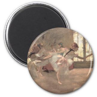 El ensayo de Edgar Degas, arte del ballet del Imán Redondo 5 Cm