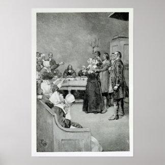 El ensayo de una bruja póster