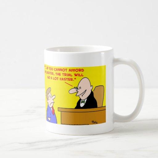 el ensayo va más rápidamente tazas de café