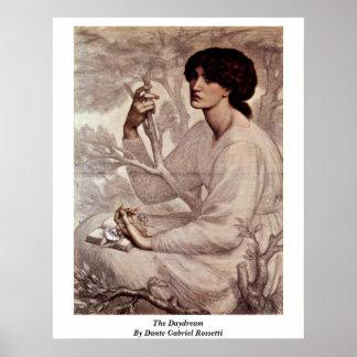 El ensueño de Dante Gabriel Rossetti Posters