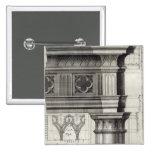 El Entablature gótico Pin Cuadrada 5 Cm