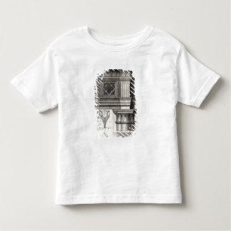 El Entablature gótico Playera De Bebé