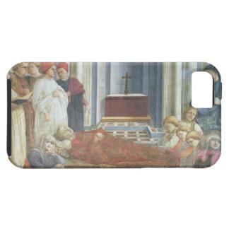 El entierro de St Stephen, detalle del ciclo iPhone 5 Funda