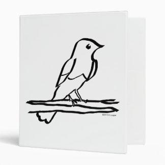 El entintar del pájaro