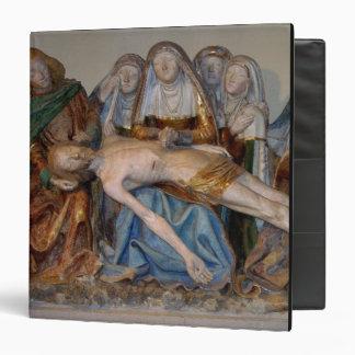 "El Entombment, 1490 (piedra pintada) (detalle) 2 Carpeta 1 1/2"""