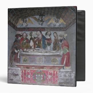 """El Entombment, c.1523 (piedra pintada) Carpeta 1 1/2"""""""