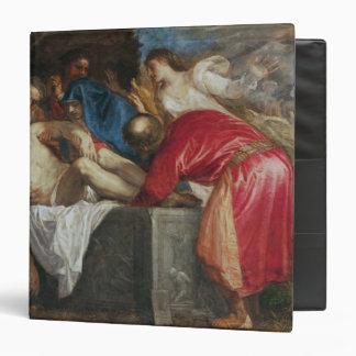 """El Entombment de Cristo, 1559 Carpeta 1 1/2"""""""