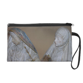El Entombment, detalle de dos de las mujeres santa