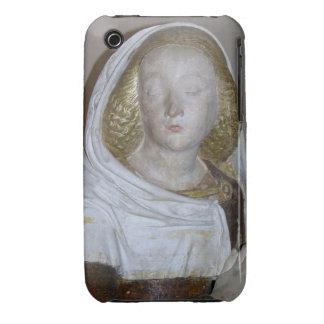 El Entombment, detalle de un santo femenino, 1490  iPhone 3 Funda