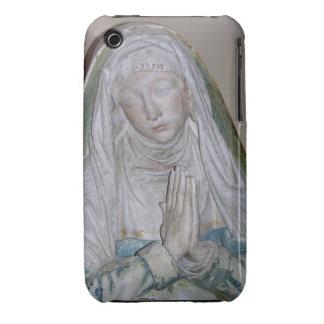 El Entombment, detalle de un santo femenino que ru iPhone 3 Fundas